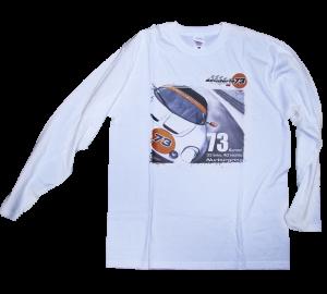 73wheels Maglietta maniche lunghe bianca