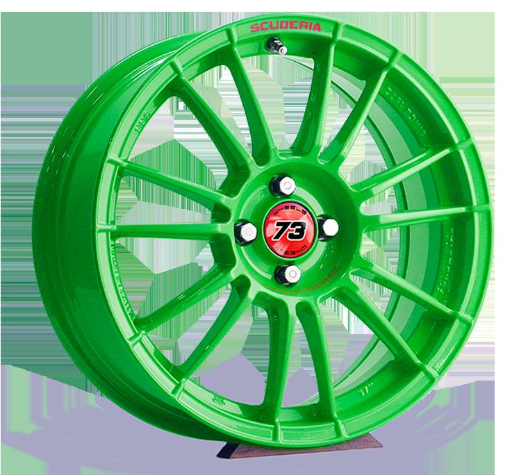 Scuderia competizione GREEN VIPER verde lucido